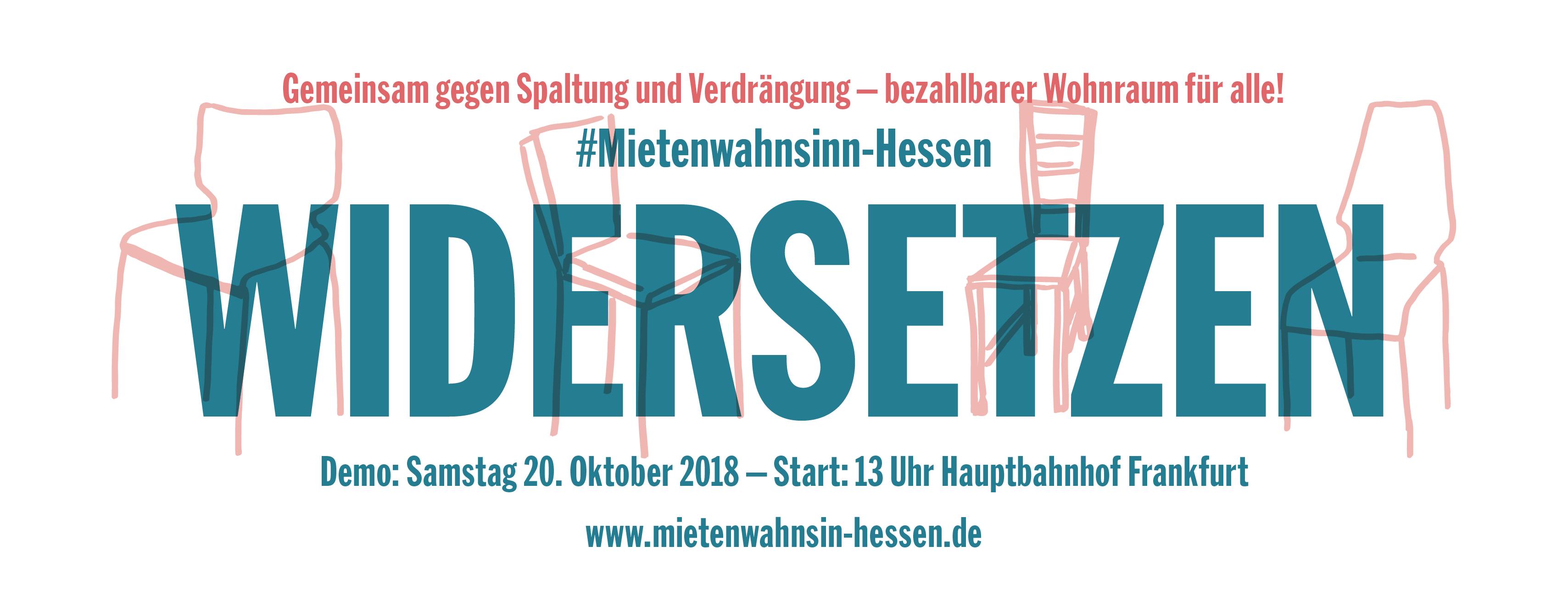 Mietwahnsinn 20.10.2018 Frankfurt